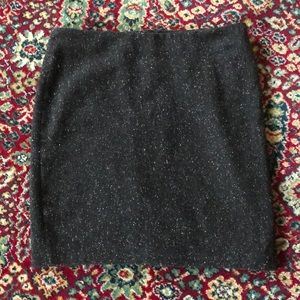 NWOT Speckled Wool Blend Pencil Skirt